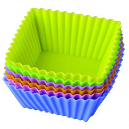 Купить Набор силиконовых форм для выпечки Regent Inox «Тарталетки квадратные» в Москве по недорогой цене