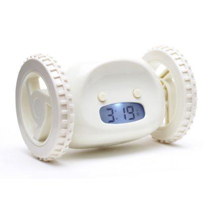 Купить Убегающий будильник Alarm Clocky Run - белый в Москве по недорогой цене