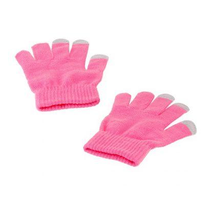 Купить Перчатки для сенсорных экранов - розовые