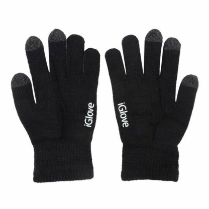 Купить Перчатки iGlove для работы с емкостными экранами - черный в Москве по недорогой цене