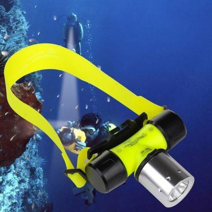 Купить Супер мощный налобный подводный фонарь HL-XQ-5T6 Headlamp Underwater Lights в Москве по недорогой цене