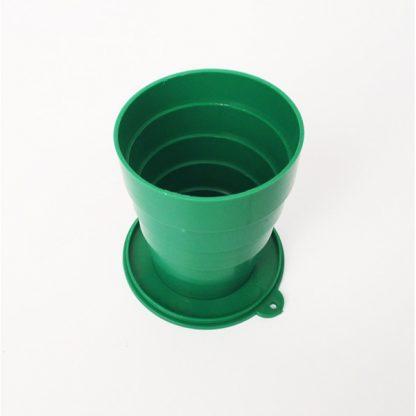 Купить Раскладной стаканчик из СССР - зеленый в Москве по недорогой цене