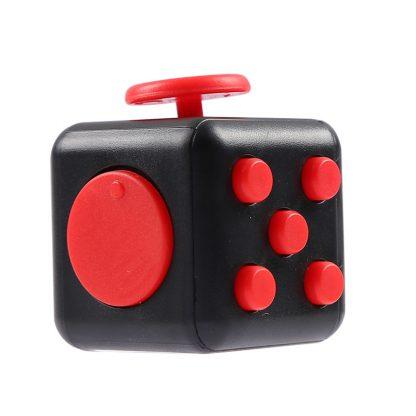 Купить Игрушка кубик антистресс Fidget Cube - красный в Москве по недорогой цене