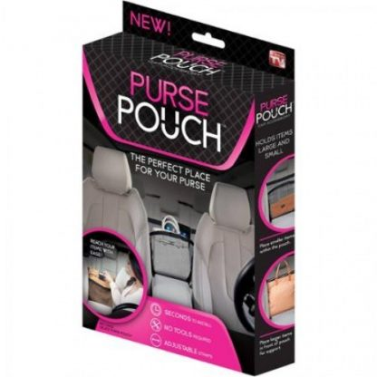 Купить Удобный держатель для сумки в авто Purse Pouch в Москве по недорогой цене