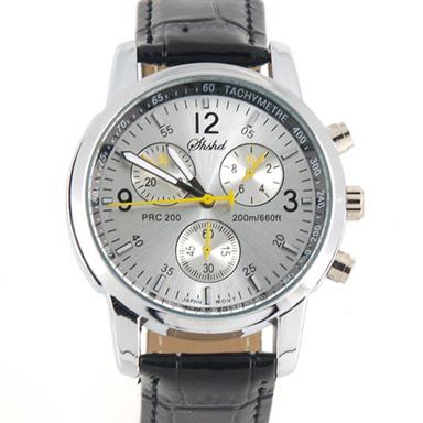 Купить Модные кварцевые часы - серебристые в Москве по недорогой цене