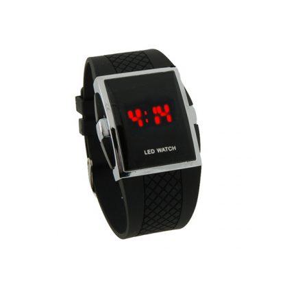 Купить Светодиодные часы - черные в Москве по недорогой цене